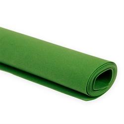 Пластичная замша (фоамиран)  60 х70 см темно-зеленый