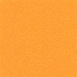 Фетр декоративный 30 х 45 см  2.2 мм оранжевый