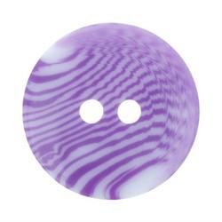 Пуговицы детские 11 мм светло-фиолетовые 1 шт