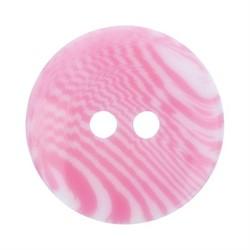 Пуговицы детские 11 мм розовые 1 шт