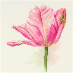 """""""Тюльпаны. Нежно-розовый"""" 22 х 26 см"""