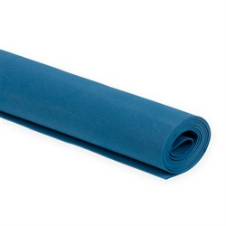 Пластичная замша (фоамиран)  60 х70 см  темно-синий