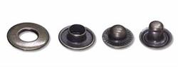 Кнопки клямерные  металлические  d 16 мм оксид 1 шт.