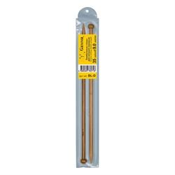 Спицы прямые бамбуковые d 9.0 35 см