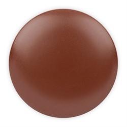 Пуговицы пальтовые\шубные коричневые 34 мм