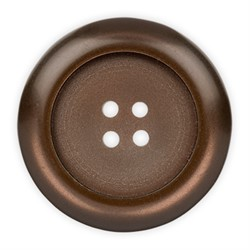 Пуговицы пальтовые\шубные коричневые 20 мм
