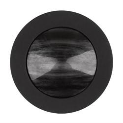 Пуговицы пальтовые\шубные черные 30 мм