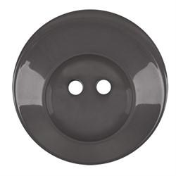 Пуговицы пальтовые\шубные  34 мм темно-серые