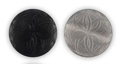 Пуговицы пальтовые/шубные 25 мм серые  1шт