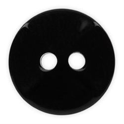 Пуговицы рубашечные/блузочные 11 мм черные  1шт
