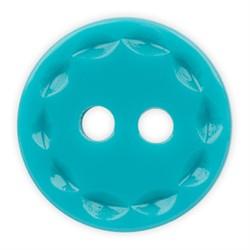 Пуговицы рубашечные/блузочные 11 мм ярко-голубые  1шт