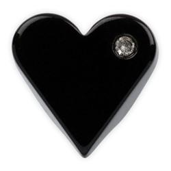 Пуговицы рубашечные/блузочные 10 мм черные 1шт.