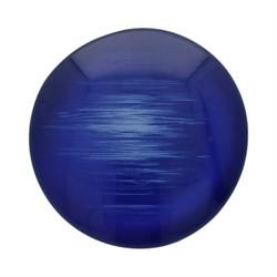 Пуговица костюмная на ножке 20 мм темно-синяя 1 шт.