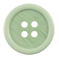 Пуговицы костюмные с проколами 17 мм светло-зеленые 1 шт.