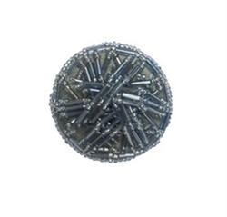 Пуговицы пальтовые/шубные серые 42 мм 1 шт