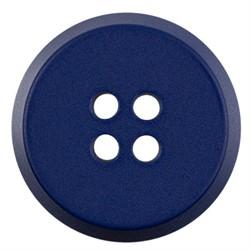 Пуговицы пальтовые 25 мм темно-синие 1 шт