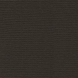 Бумага для скрапбукинга однотонная (кардсток) 30.5 x 30.5 см горький шоколад 1 лист