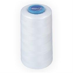 Нитки швейные (полиэстер) 50/2 намотка 4570 м белые