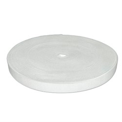 Лента эластичная 20 мм  белая 1м