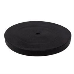 Лента эластичная черная 8 мм 1 м