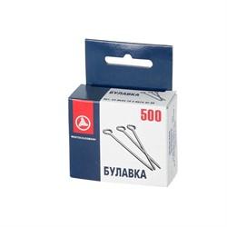 Иглы для закалывания стальные 30 мм (500 шт) 1 пач.