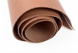 Кожа искусственная 300 г/кв.м 50 см х 35 см коричневая 1 лист