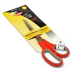 Ножницы универсальные 22 см цв.красно/серый 1 шт