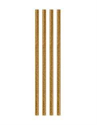 Клей для малого клеевого пистолета с блестками d 7.2 мм (золото) 1 шт