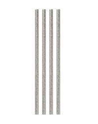 Клей для малого клеевого пистолета с блестками d 7.2 мм (серебро) 1 шт