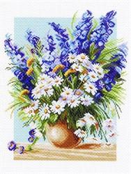 "Рисунок на канве ""Голубой фонтан"" 37 х 49 см ""Матренин посад"""