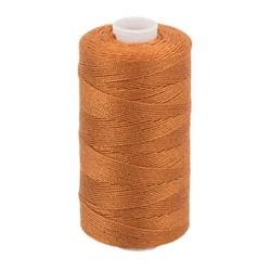 Нитки джинсовые (полиэстер) цвет 446 рыжий 183 м 1 шт