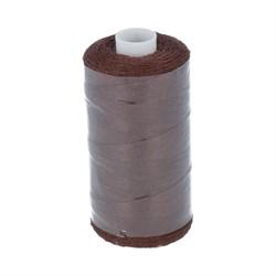 Нитки джинсовые (полиэстер) 183 м  цвет 492 темно-коричневый 1 шт