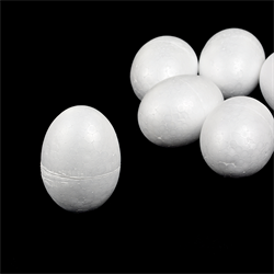 """Заготовка из пенопласта """"Яйцо"""" d85 мм 1 шт"""