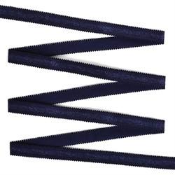 Резинка бельевая (для бретелей) 12 мм цвет 161 темно-синий  1 м