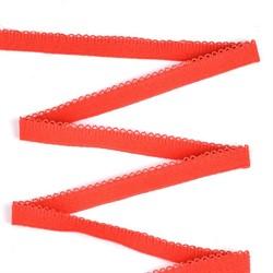 Резинка бельевая (отделочная) 12 мм цвет 931 красный 1 м