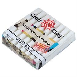 """Полимерная глина """"Craft&Clay"""" флуоресцентный  белый"""