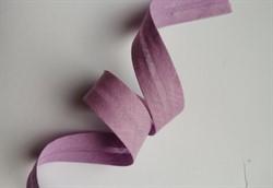 Косая бейка Х/Б  15 мм цвет: 112 сиреневый  1м