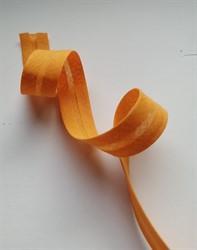 Косая бейка Х/Б  15 мм цвет: 022 оранжевый  1м