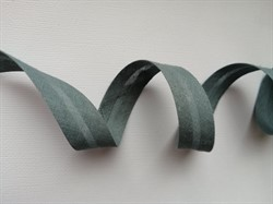 Косая бейка Х/Б  15 мм цвет: 072 темно-серый 1 м