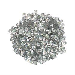 Пайетки россыпью 3 мм цвет: под серебро 1 п.