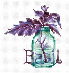 """Набор для вышивания """"Пряные травы. Базилик""""  9х10 см  """"Сделай Своими Руками"""""""