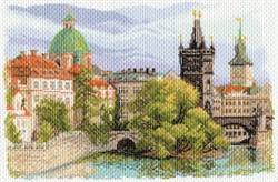 """Рисунок на канве  """"Прага"""" 37х49 см  """"Матренин Посад"""""""