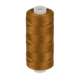 Нитки джинсовые (полиэстер) 183 м цвет 442 коричнево-рыжий 1 шт