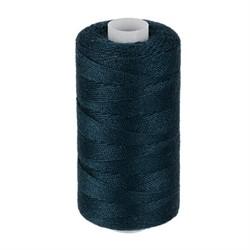 Нитки джинсовые (полиэстер) 183 м цвет 316  синий 1 шт